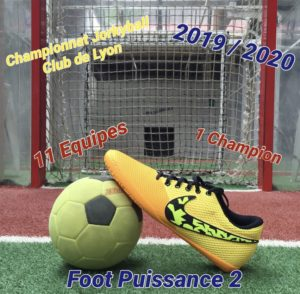 affiche du championnat de jorkyball jorky.fr saison 2019/2020