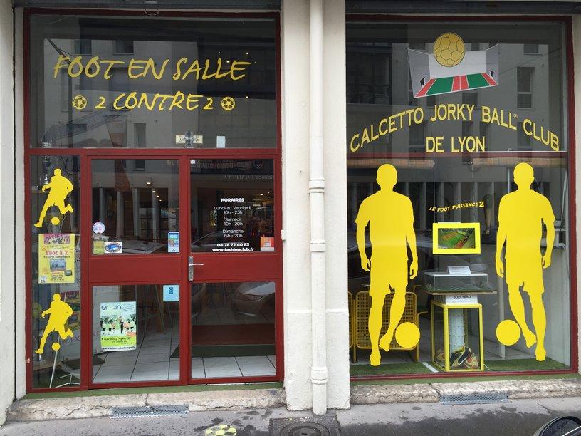 vitrine du club Jorky.fr 21 route de vienne Lyon 7
