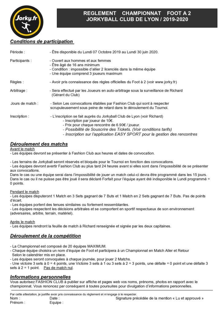 reglement du championnat de jorkyball de jorky.fr